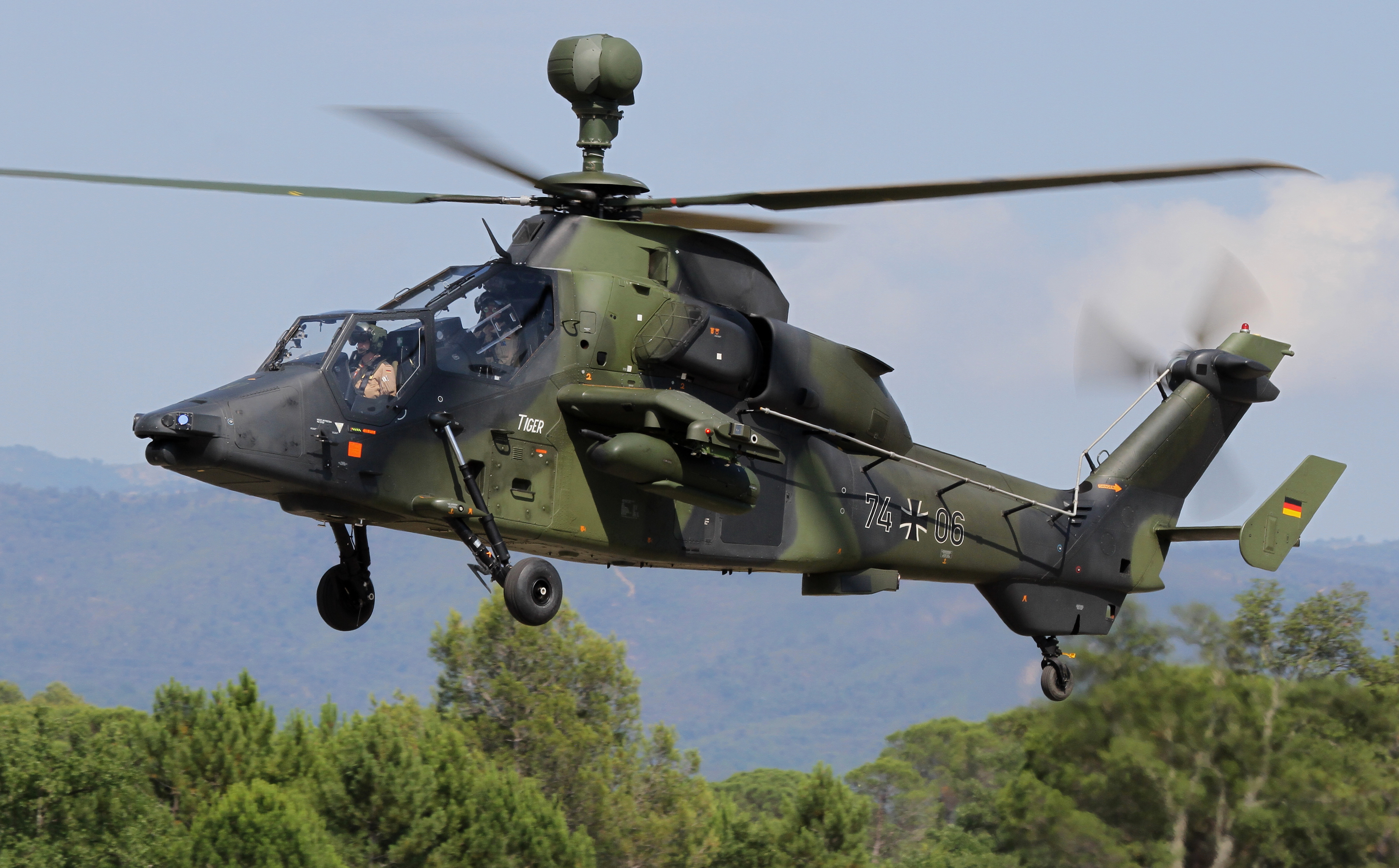 5 Eurocopter Tiger most powerful military helicopters