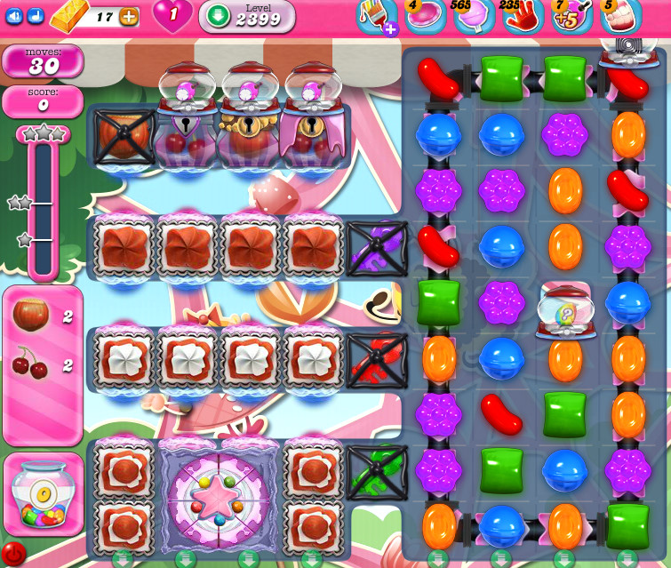 Candy Crush Saga level 2399