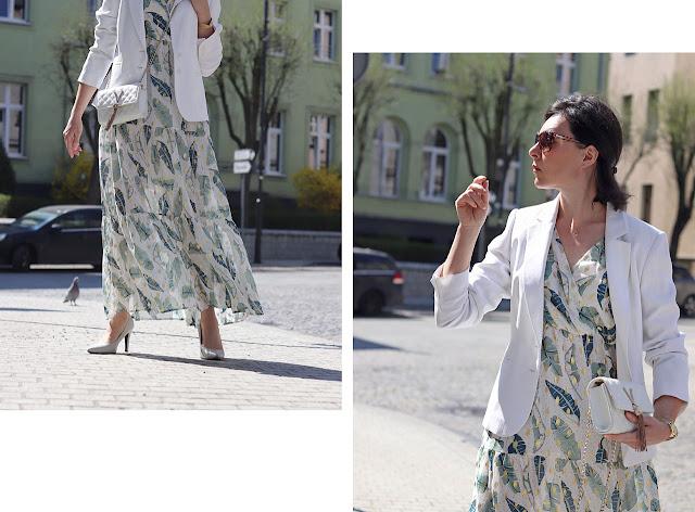 sukienka maxi stylizacje blog