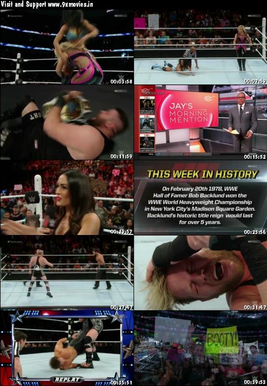 WWE Superstars 19 FEB 2016 HDTV 480p