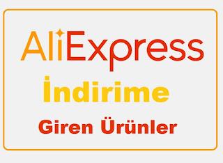 AliExpress Sitesinde İndirime Giren Ürünler (Haziran 2019)