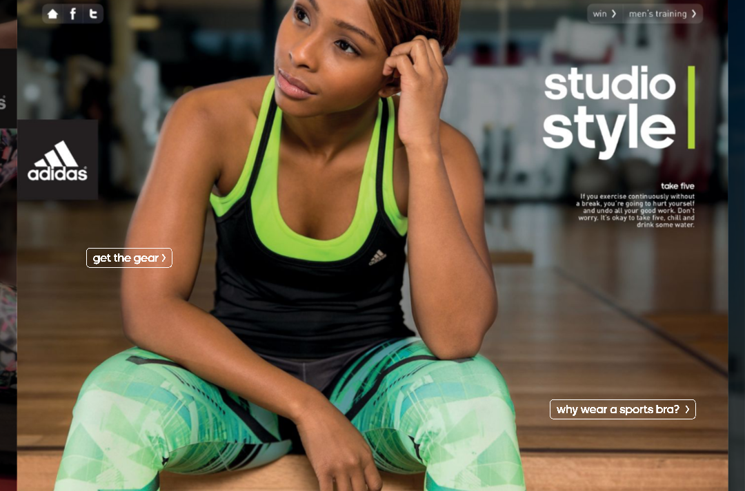 Sporty Boity Does Adidas
