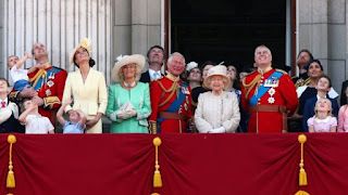 Buckingham Palace 2019 Megha and Harry Trooping Colours
