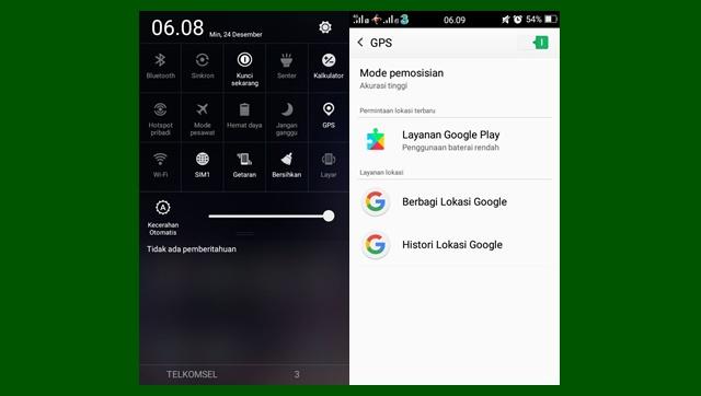 Cara Menghidupkan dan Mematikan GPS di Android dengan Mudah