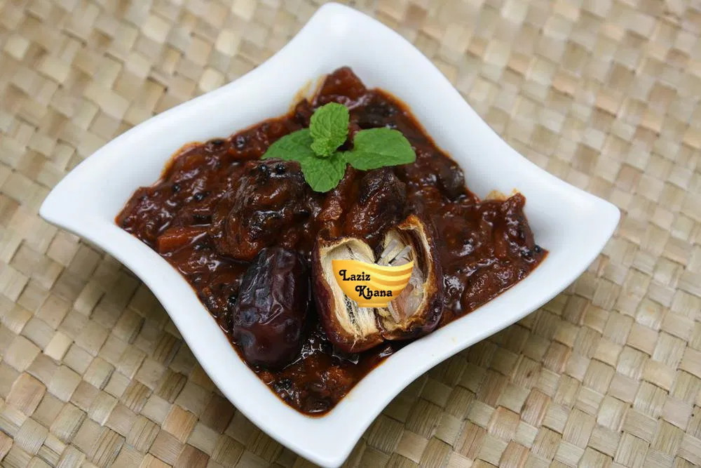 Khajoor Imli Chutney Recipe in Hindi