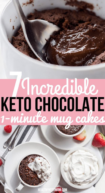 Keto Brownie Mug Cake
