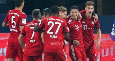 مباراة بايرن ميونخ وهيرتا برلين ضمن مباريات الدوري الألماني 2019