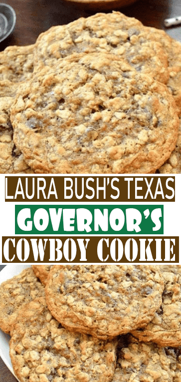 Laura Bush's Texas Governor's Mansion Cowboy #Cookies