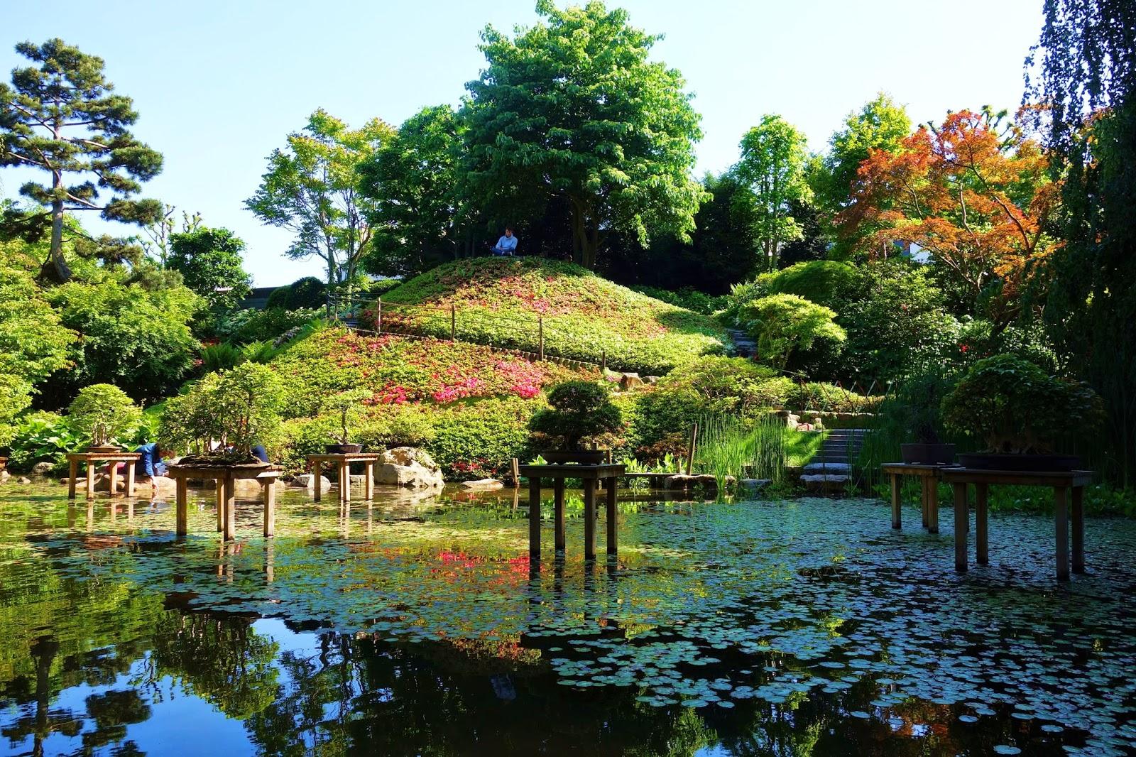 Paris village et jardin japonais au mus e albert kahn for Paysage jardin japonais