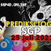 Prediksi Togel SGP 25 Juli 2021