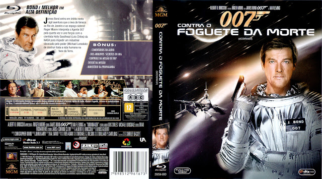 Capa Blu-ray 007 Contra o Foguete da Morte