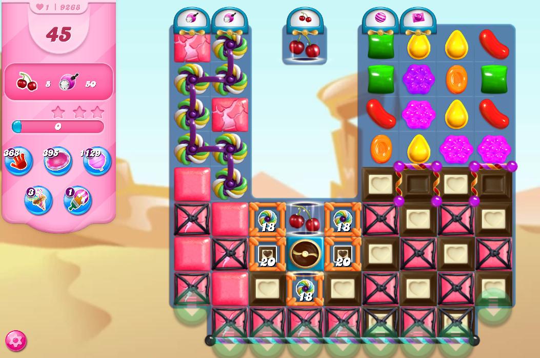 Candy Crush Saga level 9268