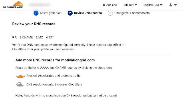 Update records in Cloudflare