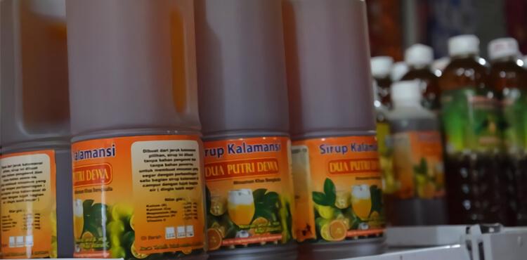 usaha jualan jeruk kalamansi