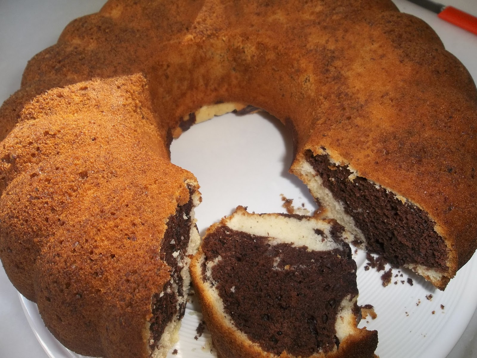 Pirinç Unlu Kakaolu Kek