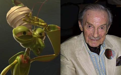 Jonathan Harris as Manny in A Bug's Life animatedfilmreviews.filminspector.com