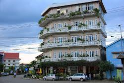 Buildings in Pakse - Laos