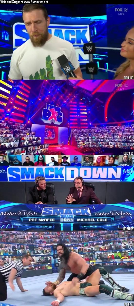 WWE Friday Night Smackdown 30 April 2021 HDTV 720p 480p 300MB