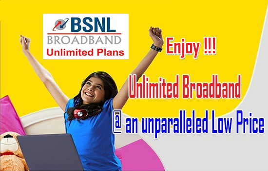 BSNL regularised promotional 8Mbps & 4Mbps Broadband Plans across all telecom circles with immediate effect