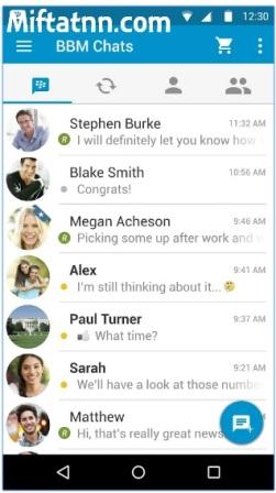 Aplikasi Sosial Media Terbaik Android BBM Apk Terbaru