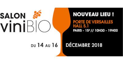 blog vin Beaux-Vins événement sortie salon œnologie dégustation décembre paris vinibio