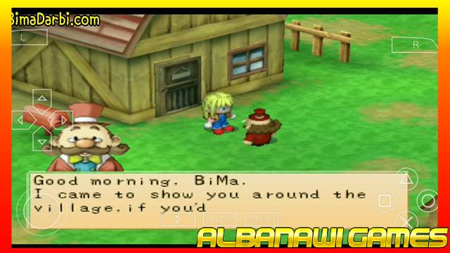تحميل لعبة Harvest Moon – Boy & Girl لاجهزة psp ومحاكي ppssppمن الميديا فاير