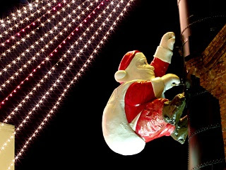 Djed Mraz i Božićne svjećice download besplatne pozadine slike za mobitele
