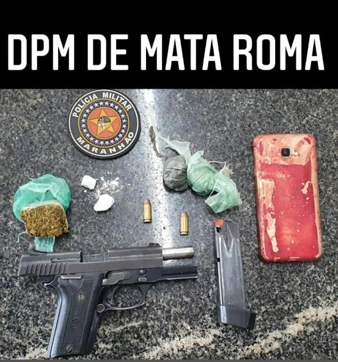Sobre o tiroteio hoje em Mata Roma hoje 03 de fevereiro de 2021