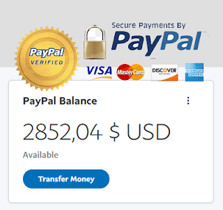 JUAL SALDO PAYPAL / SELL BALANCE PAYPAL USD $