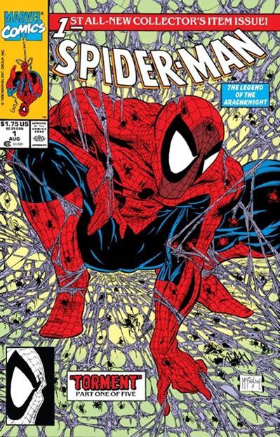 Todd McFarlane fue uno de los mejores dibujantes de Spiderman