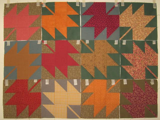 maple leaf quilt blocks
