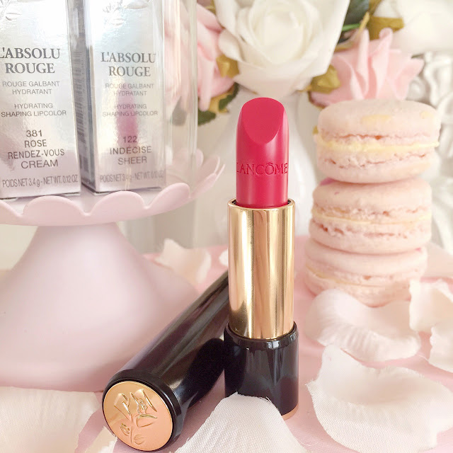 Lancome L'Absolu Rouge Lipstick | 122 Indecise