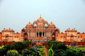 Akshardham mandir, aksharadam mandir temple in delhi, akshardham temple delhi, akshardham temple noida