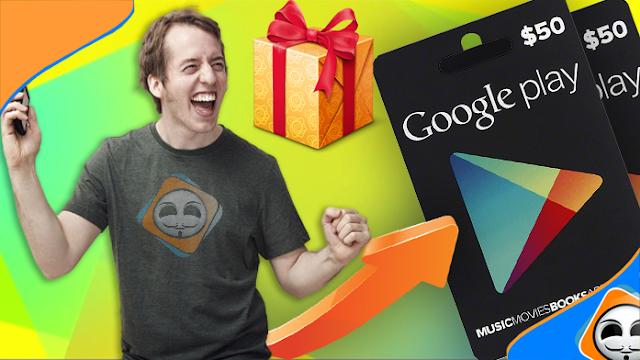 طريقة الحصول على بطاقات جوجل بلاي مجانا ! جربها واحصل على بطاقتك الان