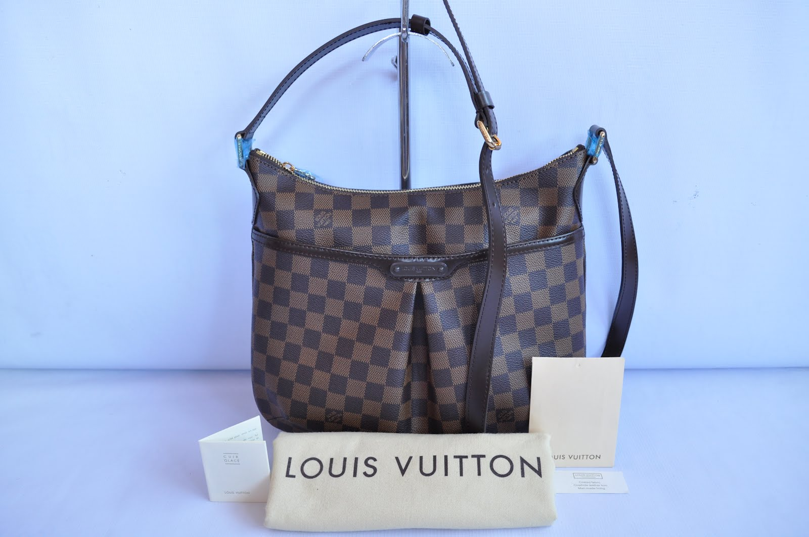 9fb61af60e1b Quality at its BEST!  LOUIS VUITTON BLOOMSBURY PM REPLICA BAG