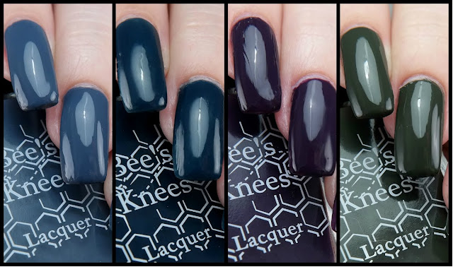 Bee's Knees Lacquer Unseelie Cream Quad