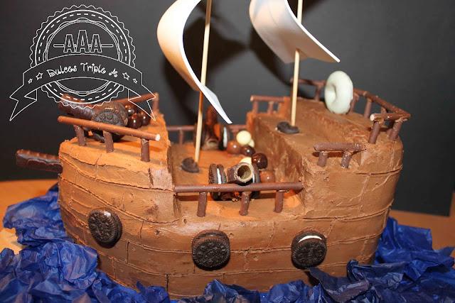 Tarta Barco Pirata. Para El Príncipe De Mi Casa