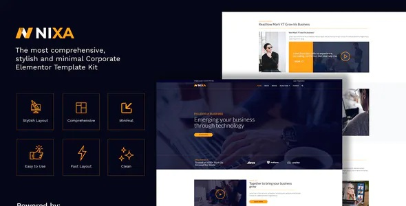 Best Business & Services Elementor Template Kit