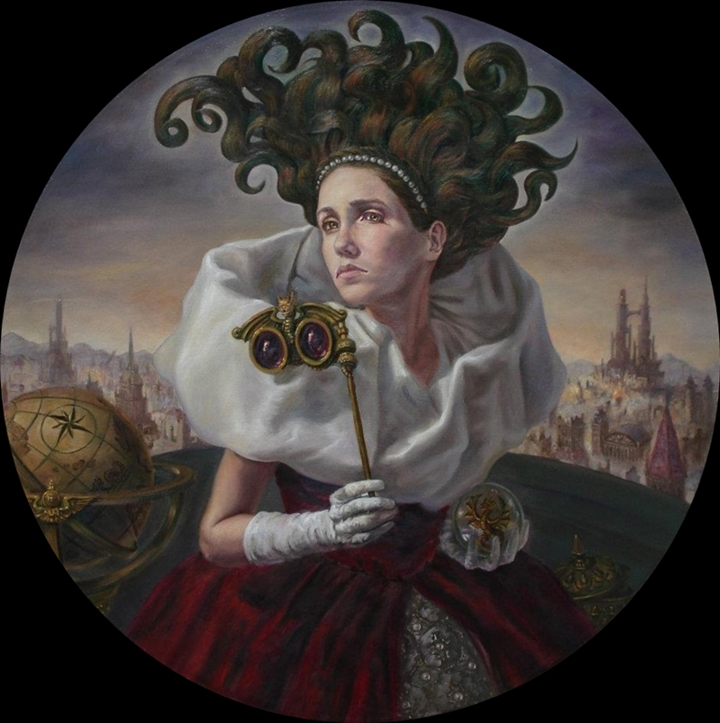 José Parra 1975 | Mexican Surrealist painter
