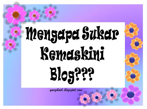 Bagaimana menghidupkan semula semangat blogging
