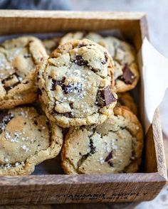 Chewy Brown Sugar Chocolate Chip Cookie recipe makes cookies that are the perfect blend of soft and chewy!
