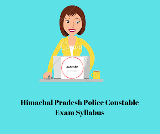 Syllabus-HP Police Constable Exam