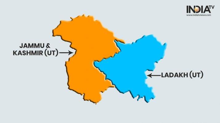 India Bagi Kashmir Jadi Dua Wilayah Federal