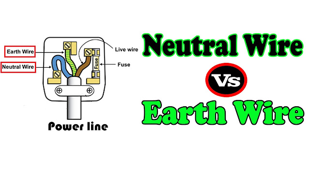 Neautral Wire vs Earth Wire - Difference Between Neutral Wire and ...