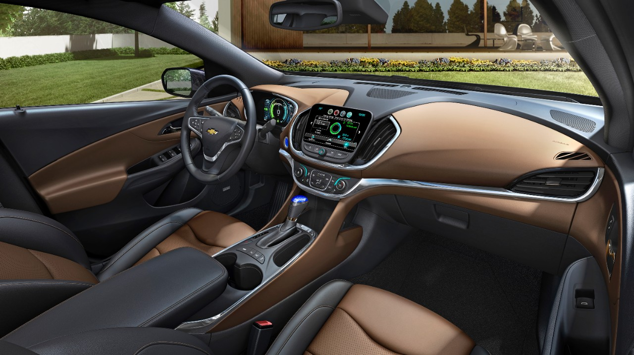 Interior view of 2017 Chevrolet Volt Premier