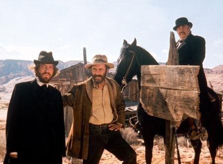 映画砂漠の流れ者の一場面
