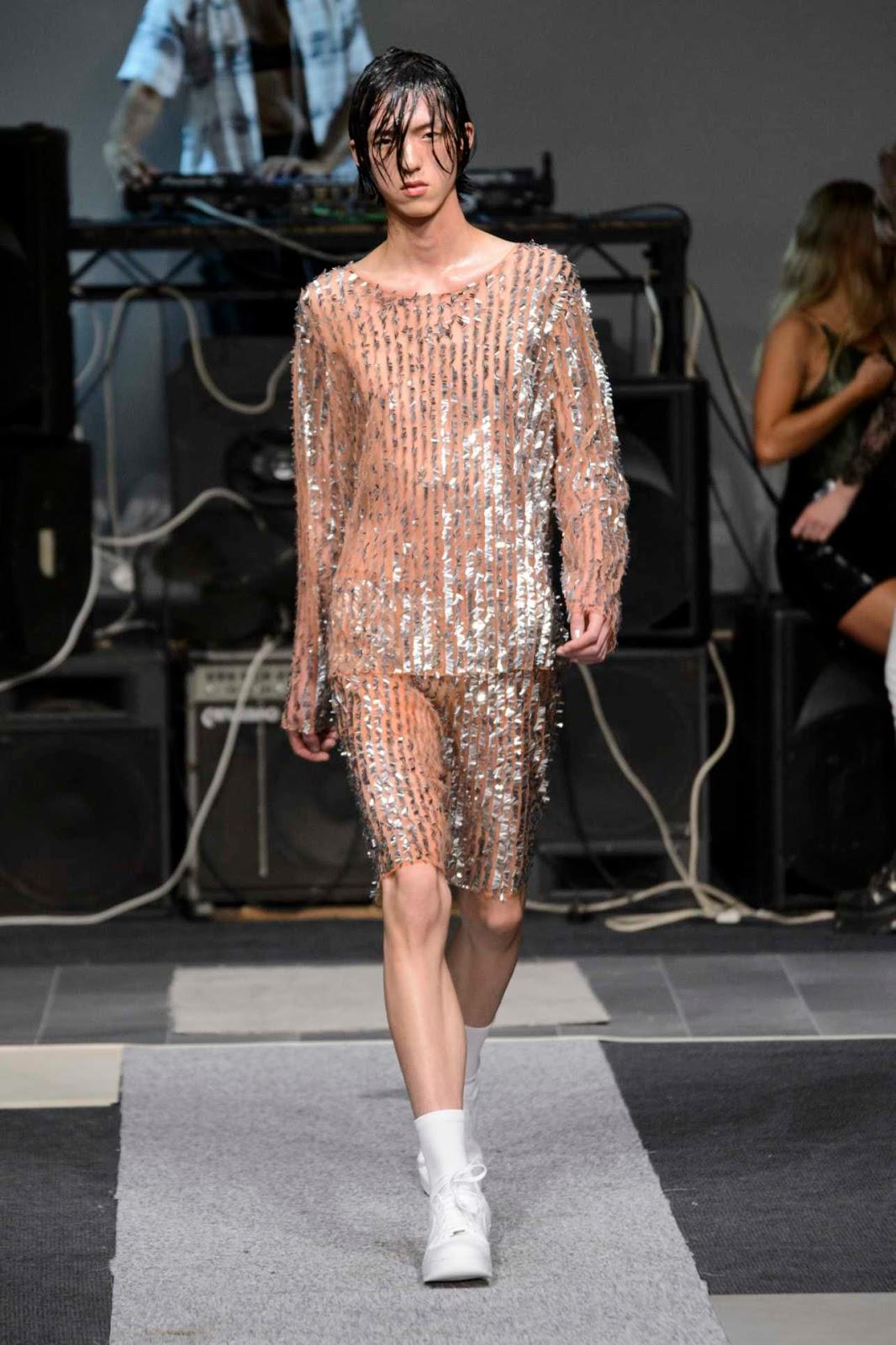 ashish springsummer 2019 runway show male fashion trends