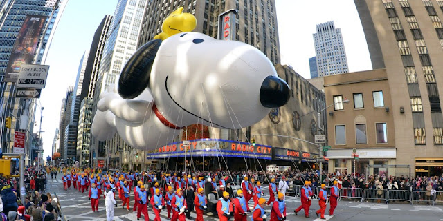 Desfile del día de acción de gracias en Nueva York