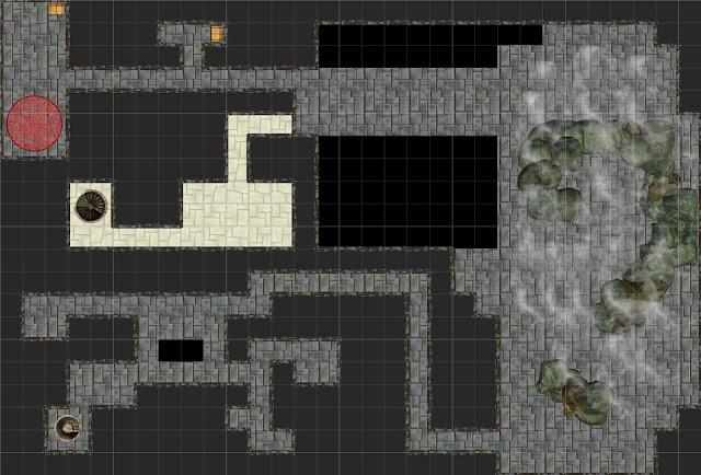 Aventuras Rol - Cripta de Ment - Primer Sótano