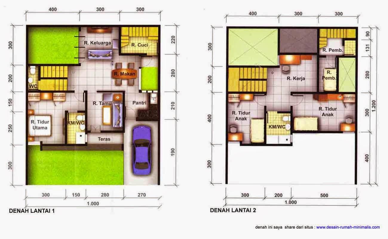 desain rumah minimalis 2 lantai 2 kamar tidur denah rumah minimalis modern 2 lantai 120 m2 desain rumah terbaru 2014